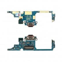 Placa conector de carga con flex micrófono para LG Q92 5G