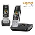 Gigaset DUO Teléfono Inalámbrico con Contestador Automático Manos Libres