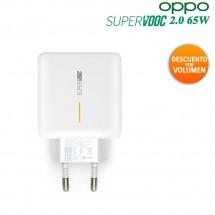 Cargador Original 65W ultrarrápido 6.5A Oppo SuperVOOC 2.0 más Cable Tipo C