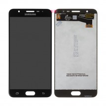 Pantalla Original Service Pack para Samsung Galaxy J7 Prime G610 Negra