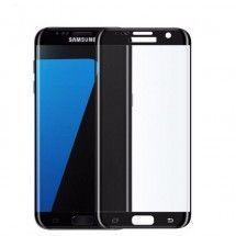 Protector Cristal Templado Samsung Galaxy S7 Edge Negro