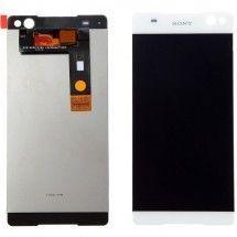 Pantalla LCD y tactil blanco para Sony Xperia C5 Ulltra