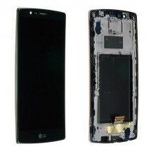 Pantalla LCD Más Táctil Color negro Para LG G4 H815 Con Marco