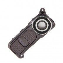 Embellecedor mas boton trasero Negro para LG G4 H815