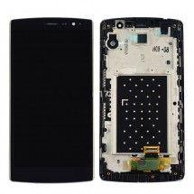 Pantalla LCD y tactil negro con marco para LG G4s H735