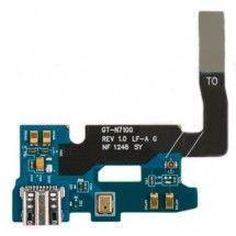 Conector de carga más microfono para Samsung Galaxy Note 2 N7100