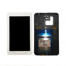 """Pantalla LCD mas tactil con marco color blanco para Samsung Galaxy Tab 3 T100 T110 T111 7"""""""