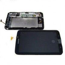 Pantalla LCD mas tactil con marco color negro para Samsung Galaxy Tab 3 T210