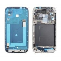 Marco display color plateado Samsung Galaxy S4 i9505