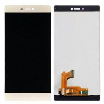Pantalla Completa LCD y tactil Huawei Ascend P8 color dorado