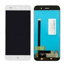 Pantalla LCD y tactil color blanco para ZTE Blade V6