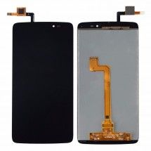 Pantalla LCD y tactil color negro para Alcatel OT-6045Y Idol 3 5