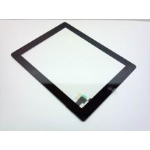 Tactil con boton color negro iPad 2