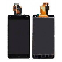 Pantalla LCD mas tactil color negro LG Optimus G E975