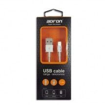 Cable de datos USB IPHONE 5G / 5S / 5C 1.2m BOFON