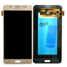 Pantalla Completa compatible color Dorado para Samsung Galaxy J7 2016 J710