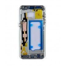 Carcasa y marco pantalla color Silver para Samsung Galaxy S7 G930F