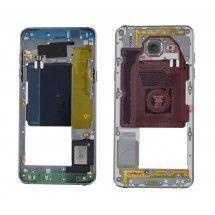 Carcasa trasera Negra con lente para Samsung Galaxy A5 2016 (A510)