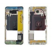 Carcasa trasera Dorada con lente para Samsung Galaxy A5 2016 (A510)