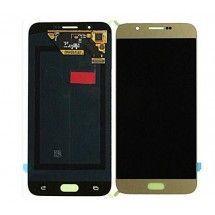 Pantalla LCD y tactil color dorado para Samsung Galaxy A8 A800F