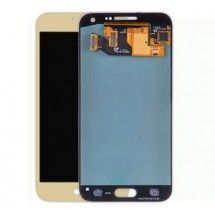 Pantalla LCD y tactil color dorado para Samsung Galaxy E5