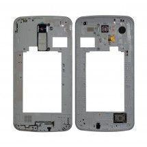Carcasa trasera con lente color blanco LG K10