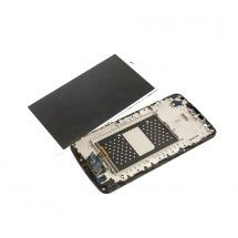 Pantalla LCD mas tactil con marco color blanco LG K10