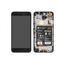 Pantalla LCD mas tactil con marco color negro LG Nexus 5X