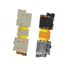 Flex lector Sim y MicroSD para Samsung Galaxy S5 G900F
