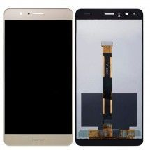 Pantalla LCD y tactil color dorado para Huawei Honor V8