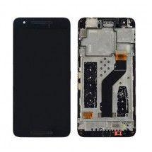 Pantalla completa Con Marco color negro para Huawei Nexus 6P