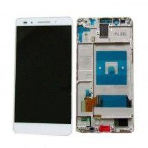 Pantalla completa Con Marco color blanco para Huawei Honor 7