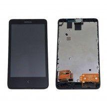 Pantalla LCD mas tactil color negro Nokia X