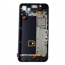 Marco frontal display 4G para Blackberry Z10 (swap)