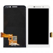 Pantalla LCD y tactil color blanco para Blackberry Z30