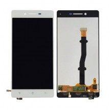 Pantalla LCD mas tactil color blanco Oppo R8207