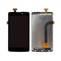 Pantalla LCD mas tactil color negro Oppo Clover R815T