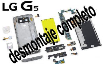 Desmontar LG G5