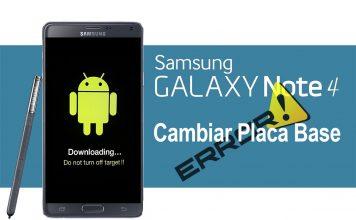 Placa base Samsung Galaxy Note 4