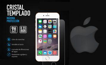 Protector pantalla iPhone