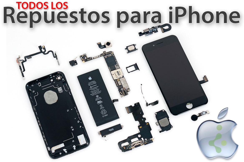 0e197a79ef8 👌 Piezas, repuestos iPhone y recambios para teléfonos móviles Apple
