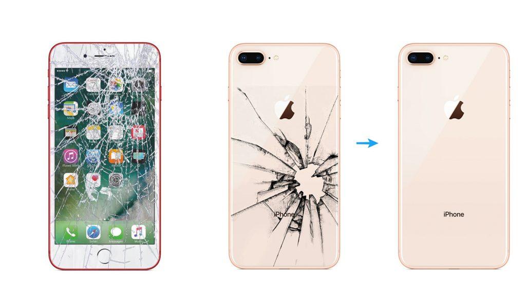 787ffe56f3d Reparar Pantalla completa y tapa trasera de iPhone 8 iPhone 8 Plus y iPhone  X